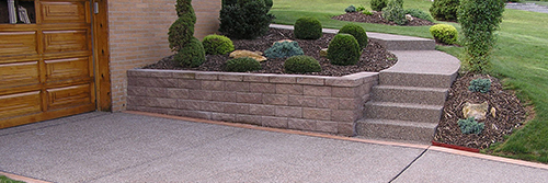 Versa-lok Walls, Walk, Steps, & Driveway